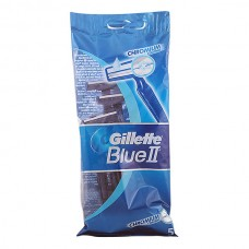 Gillette - BLUE II chromium coating cuchilla afeitar desechable 5 uds.