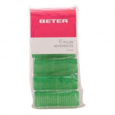 Beter - ROLLERS self-gripping 21 mm 6 pz