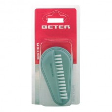 Beter - NAIL BRUSH double nylon bristles grey 1 pz