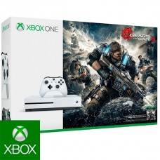 Xbox One + Gears Of War 4 Microsoft 234-00038 1 TB (2 pcs)