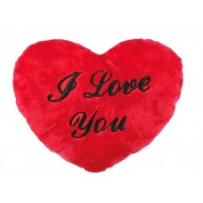 Inimă Pluș XL I Love You 60cm