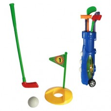 Set Golf din Plastic Caddy (9Buc)