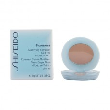 Shiseido - PURENESS matifying compact 40-natural beige 11 gr